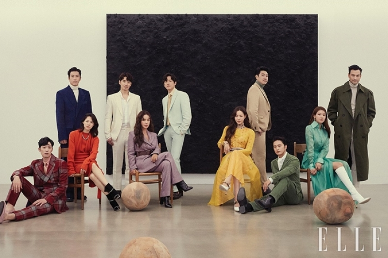 SARAM ENTERTAINMENT, ELLE NOVEMBER 2019 Pictorial